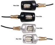 Bar End Motorcycle LED Indicators - DOUBLE SIDED