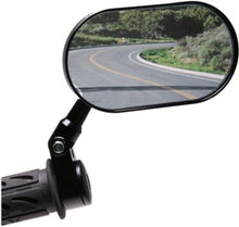 Load image into Gallery viewer, Oberon Adjustable Handlebar Clamp Mirror OVAL