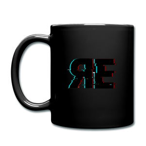 Random Evolved Media Full Color Coffee Mug - black