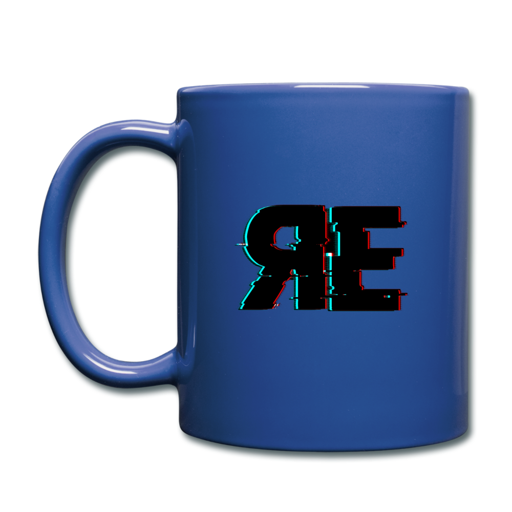 Random Evolved Media Full Color Coffee Mug - royal blue