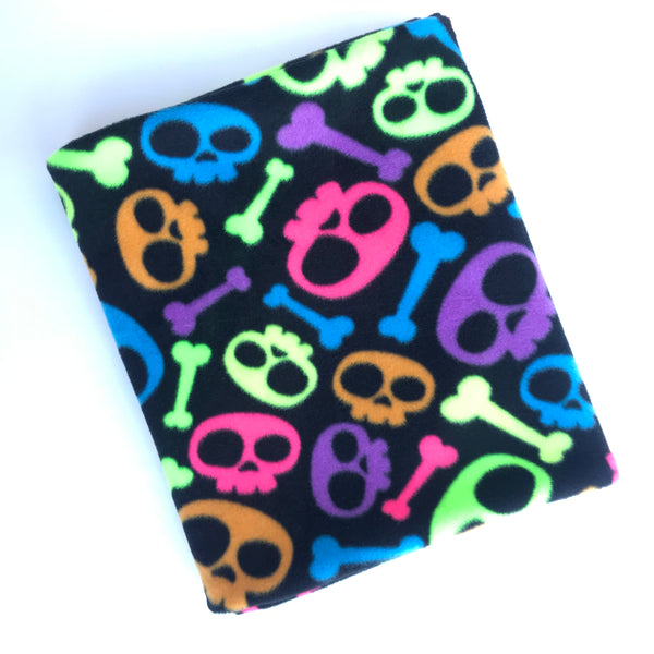 Rainbow Skulls Snood