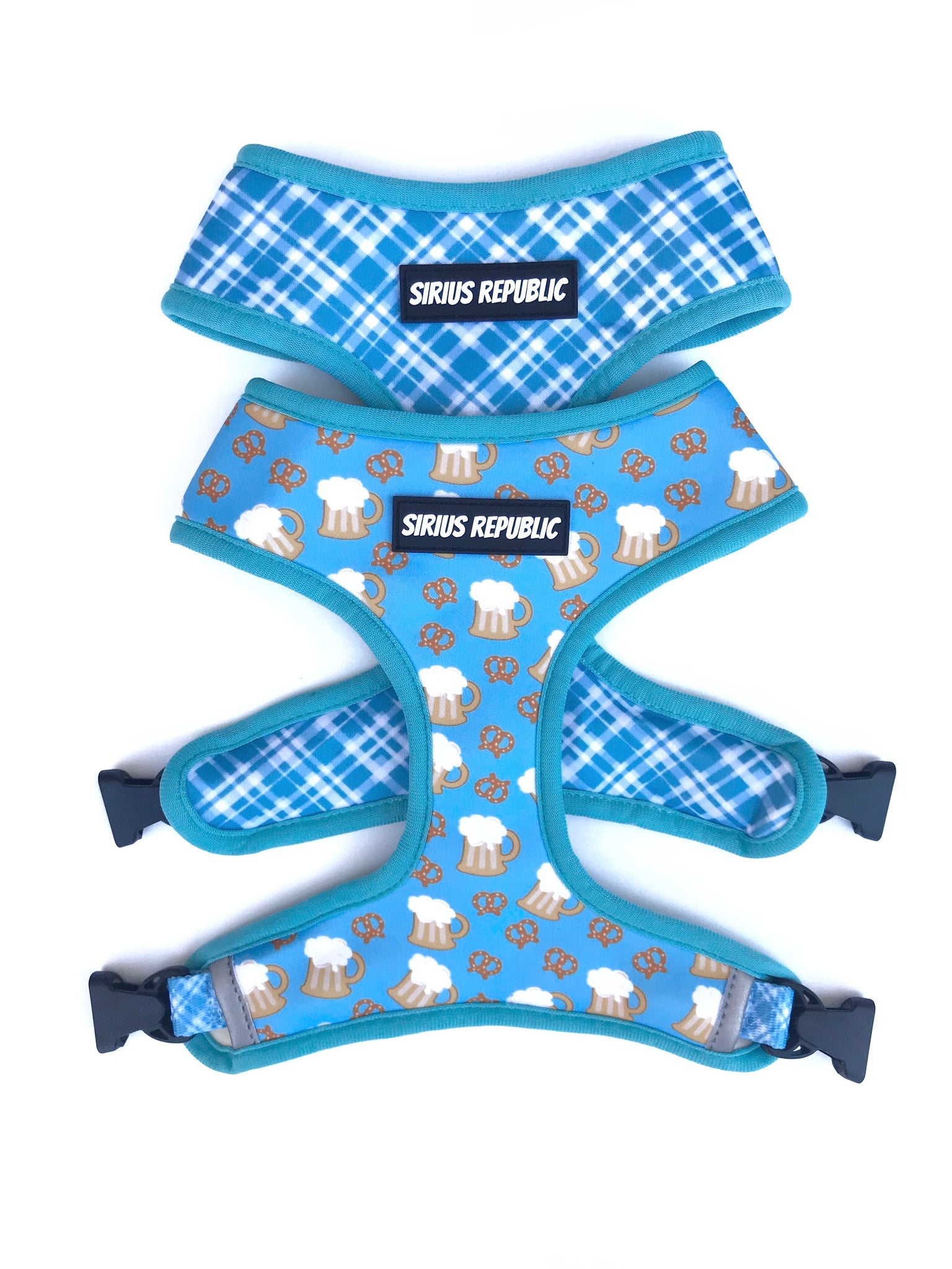 Beer and Pretzels Reversible Harness