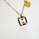 You Make My Heart Smile Necklace - Gift for Valentine - Stainless Steel 18K Gold Plated