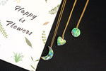 Geometry Cresent Moon Shaped Abalone Pendant Necklace - Dainty Everyday Necklace - Gift for Women