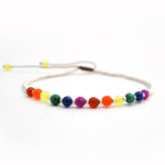 Personalized Simple Daily LGBT Bracelet - for Les Couple