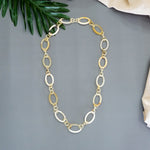 Natural Buffalo HornChain Necklace - Charming Handmade Jewelry for Women