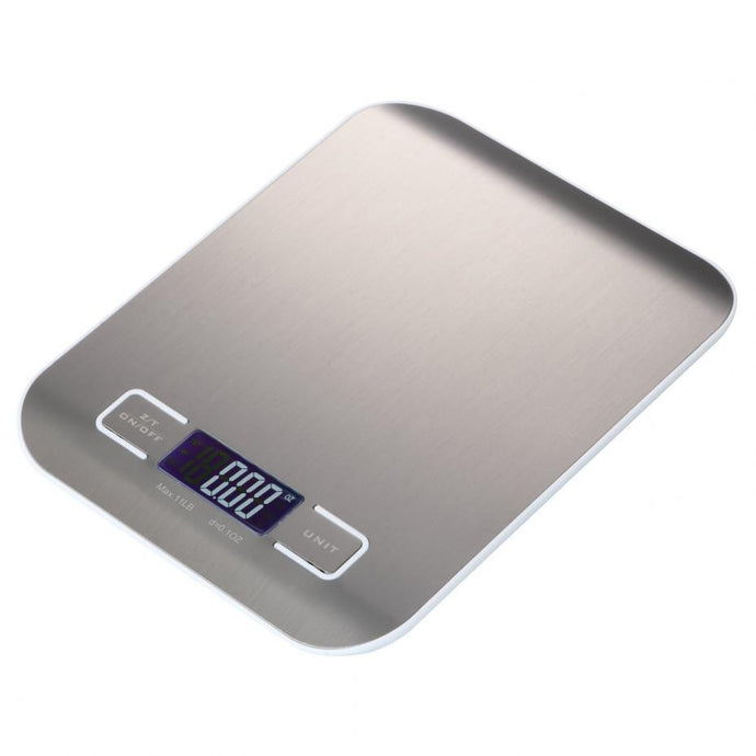 Professional Touch Digital Kitchen Scale & Stainless Steel Platform
