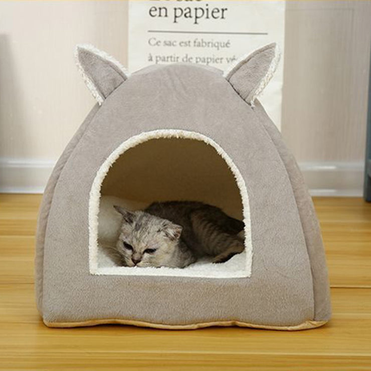 Removable Cat Bed Self Warming