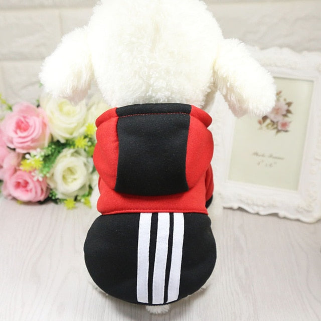 Dog Clothes Winter Soft Hooded