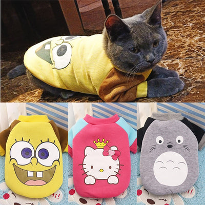 Cute Cozy Costume for Cats
