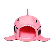 Soft Pet Cushion Shark House For Cats