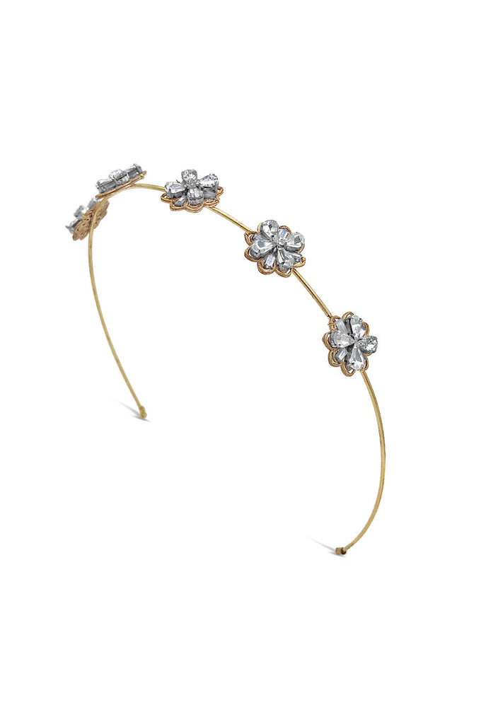 vintage jewelled bridal headband