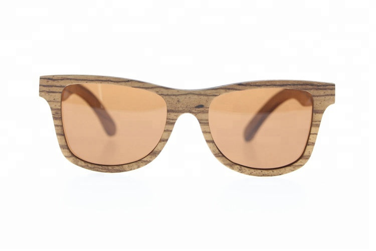 wooden unisex sunglasses