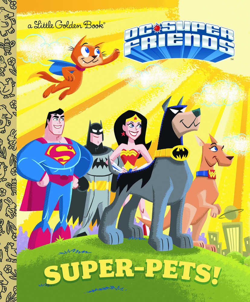 DC SUPER FRIENDS SUPER PETS LITTLE GOLDEN BOOK | Fantasy Games & Comics
