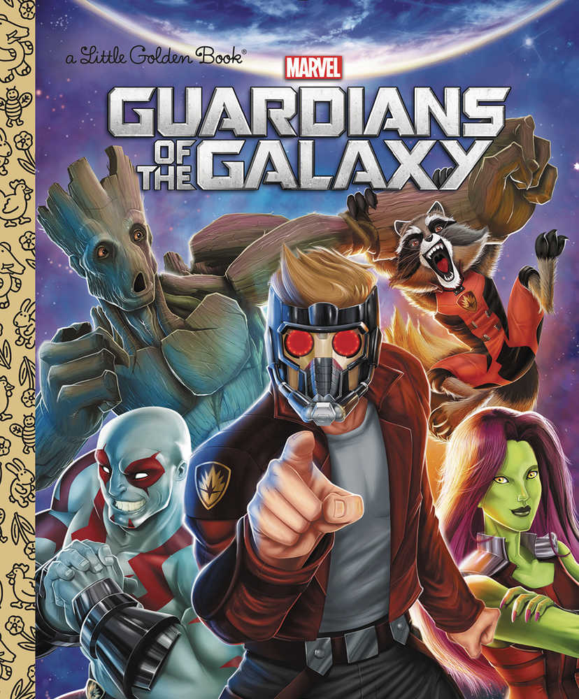 GUARDIANS OF GALAXY LITTLE GOLDEN BOOK | Fantasy Games & Comics
