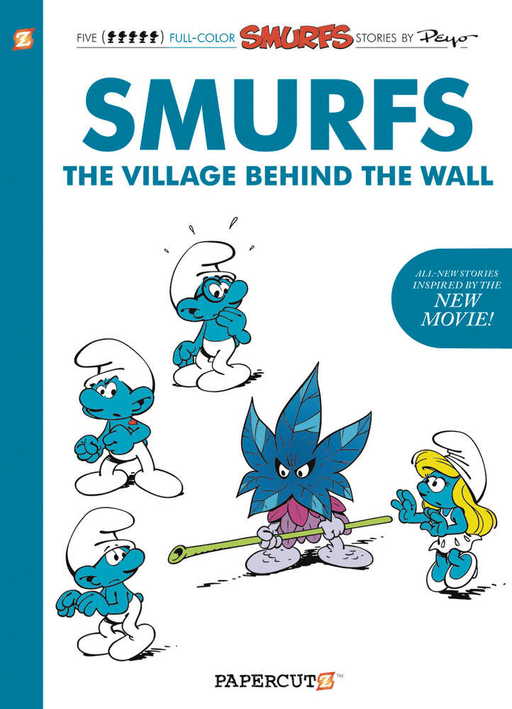 SMURFS THE VILLAGE BEHIND THE WALL GN | Fantasy Games & Comics