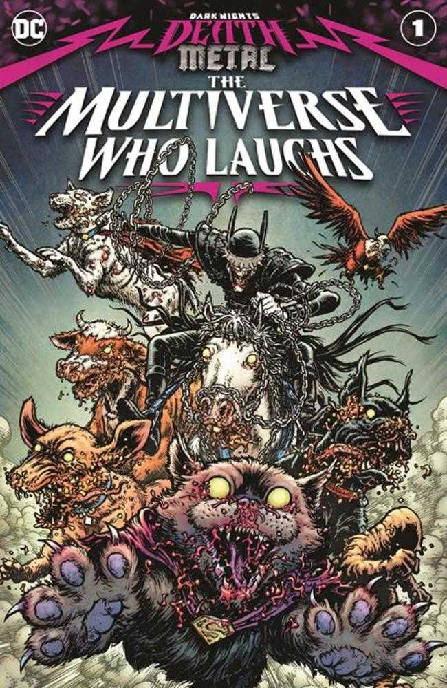 DARK NIGHTS DEATH METAL MULTIVERSE WHO LAUGHS #1 (ONE SHOT) CVR A CHRIS BURNHAM | Fantasy Games & Comics