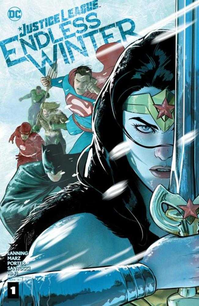 JUSTICE LEAGUE ENDLESS WINTER #1 (OF 2) CVR A MIKEL JANIN (ENDLESS WINTER) | Fantasy Games & Comics
