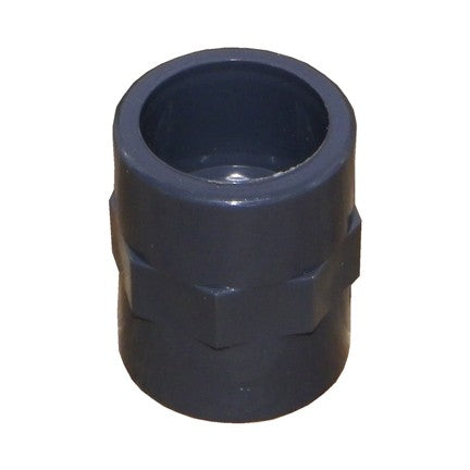 Male Plain to Female Thread Adaptor