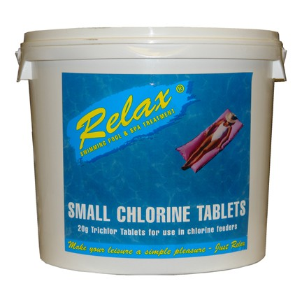 Small Chlorine Tablets