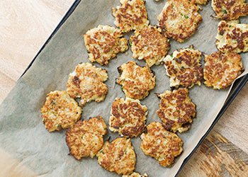HBFIT EATS: CHIPOTLE CAULIFLOWER JALAPENO FRITTERS BY SPROUTED ROUTES