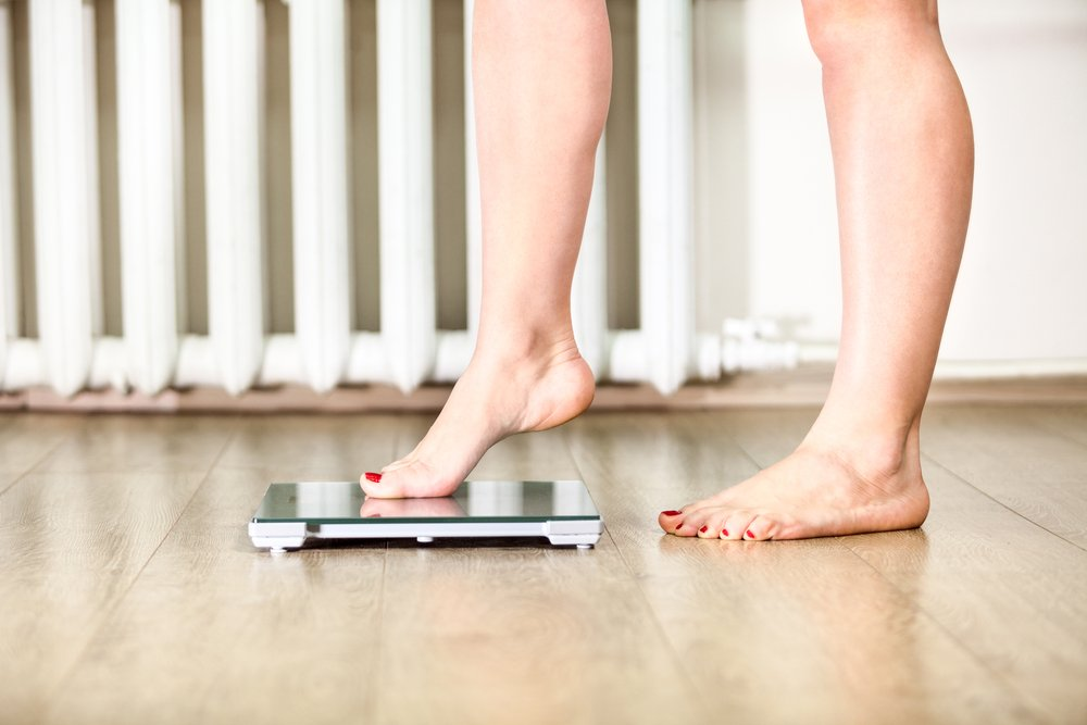 bathroom scale weight loss