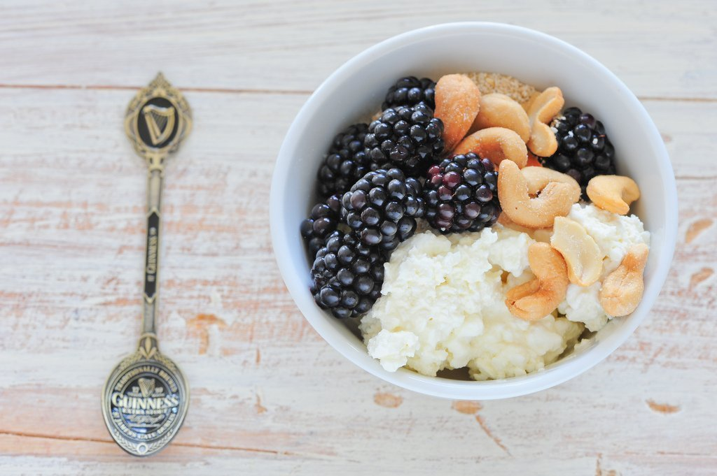cottage cheese workout foods