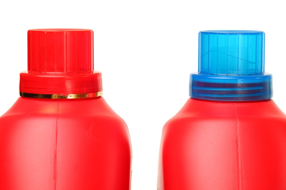 laundry detergent bottle for lifting weights at home