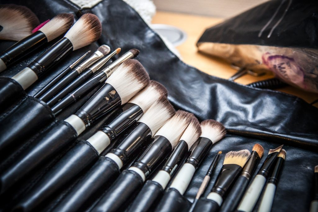 You should clean your makeup brushes every two weeks