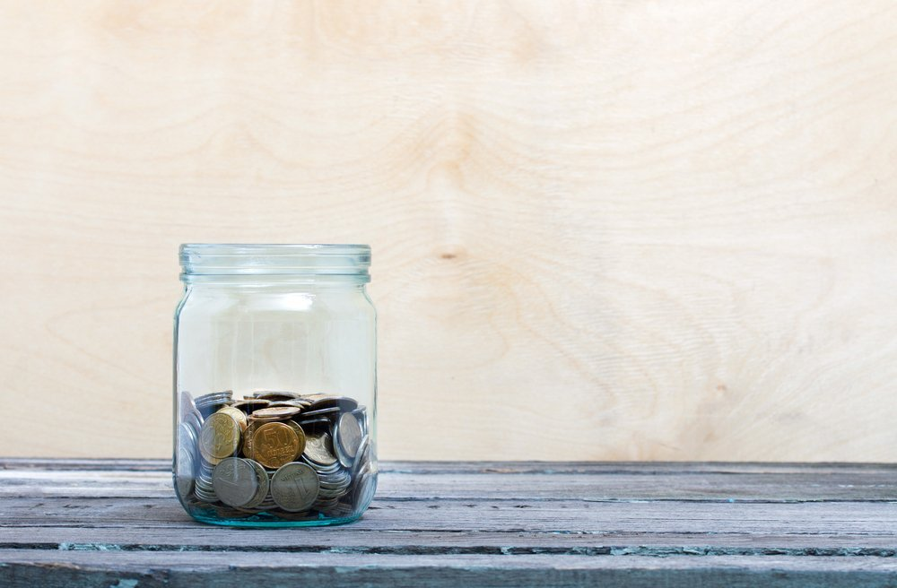 money jar savings