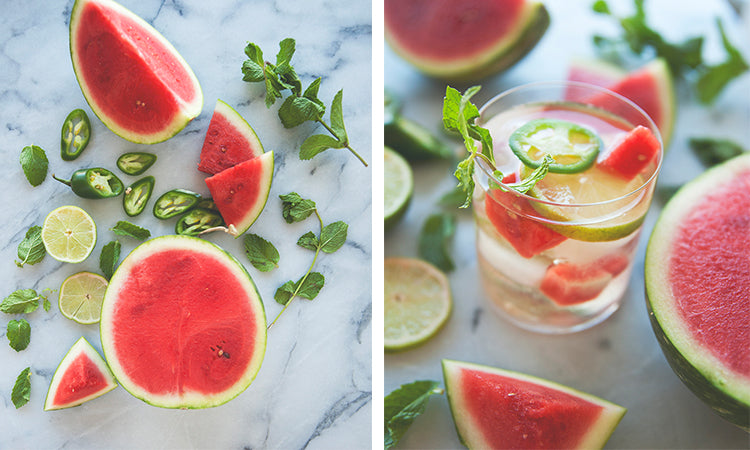 Watermelon Jalapeño Sangria/ The Kitchy Kitchen