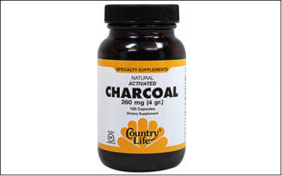 Country Life Natural Activated Charcoal Supplements $6.99