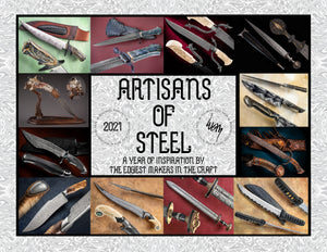 Artisans of Steel Jan-Dec 2021 Calendar