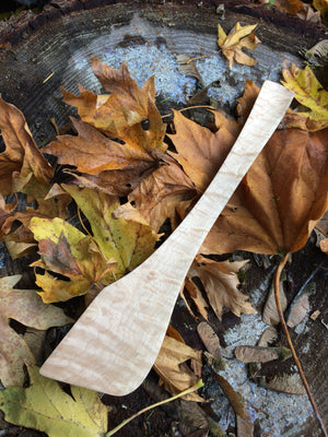 Maumasi Flame Maple Angel Wing Spoon