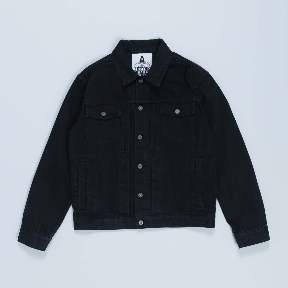 G Wagon Denim Jacket - Black - Up There