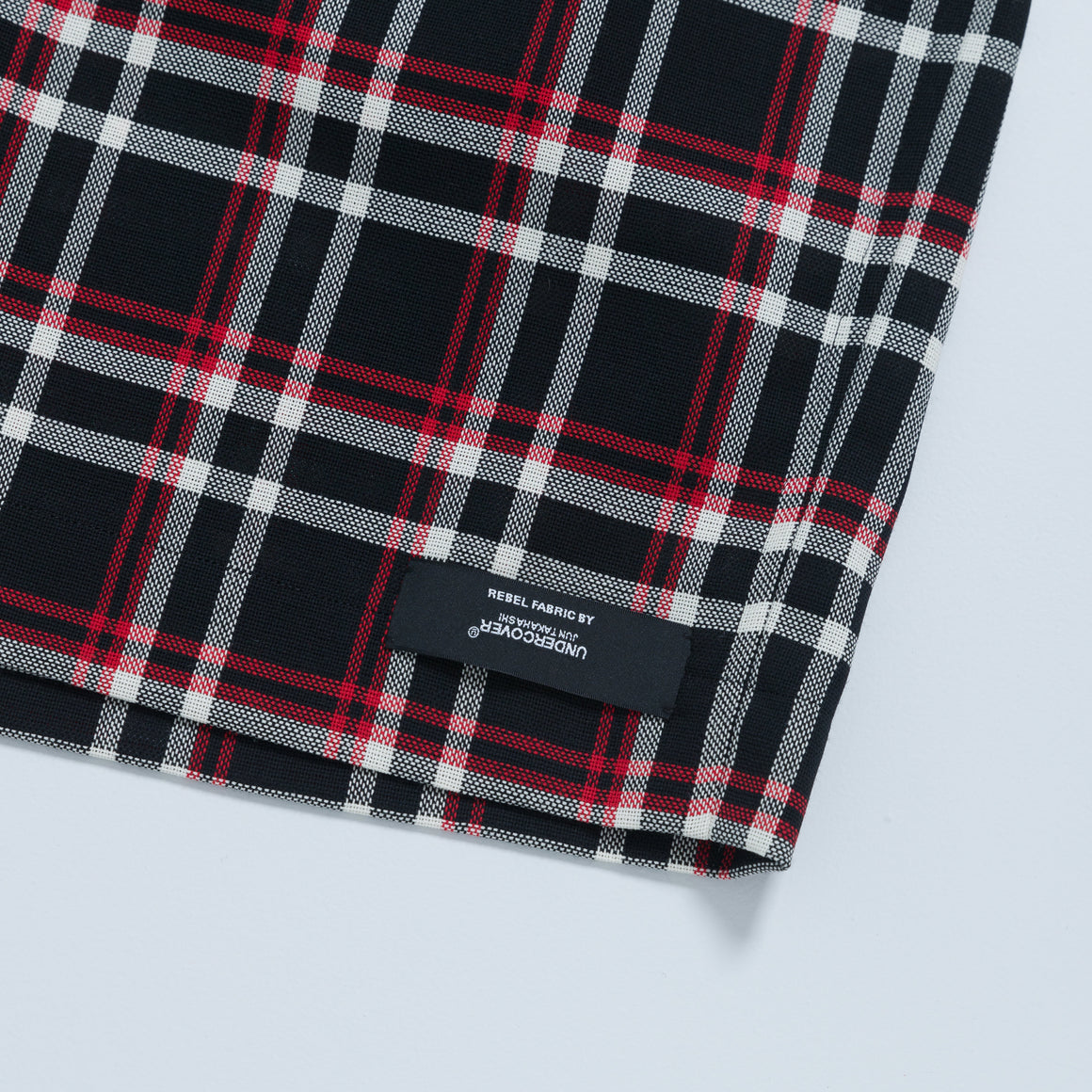 UNDERCOVER Check Shorts - Black/Red - Up There