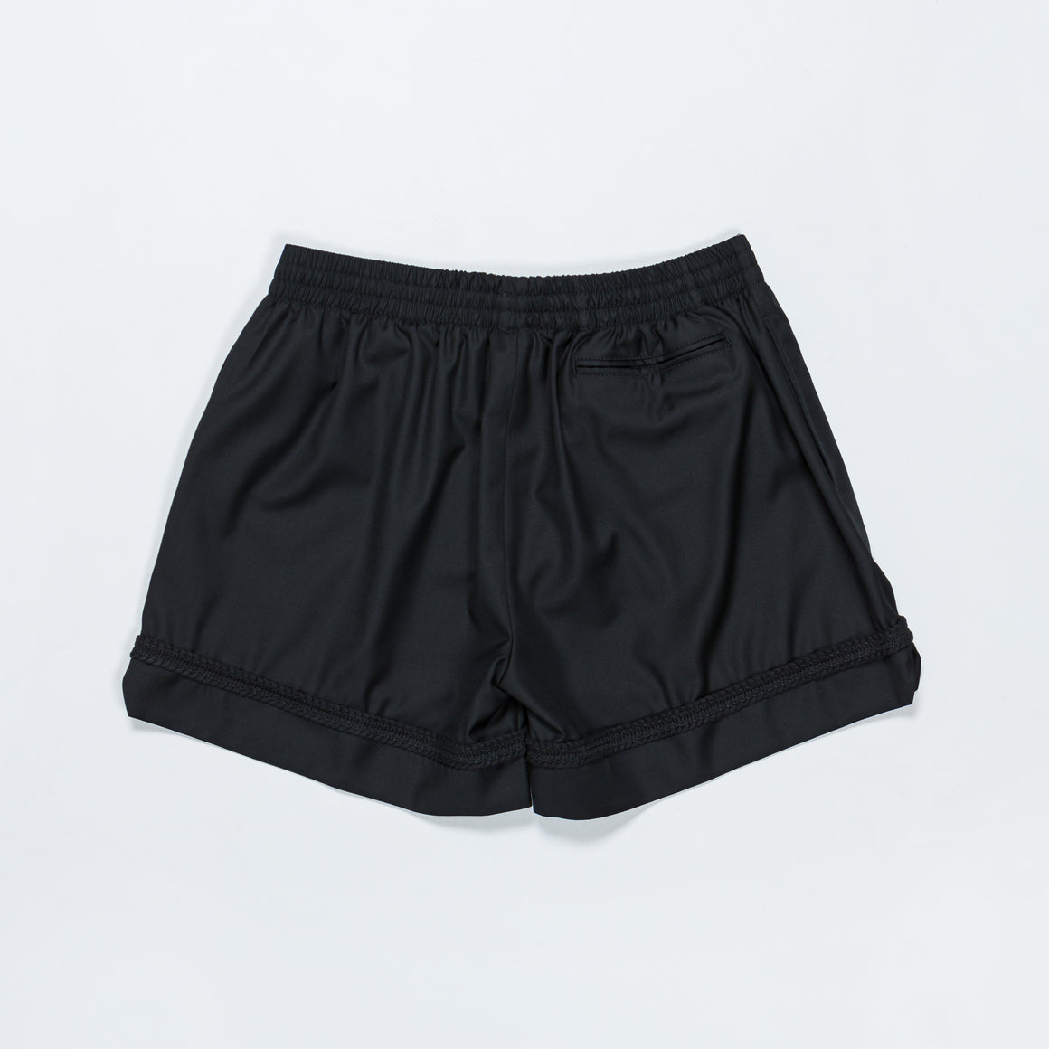 4SDesigns - Activity Short w/ Braiding - Black - Up There
