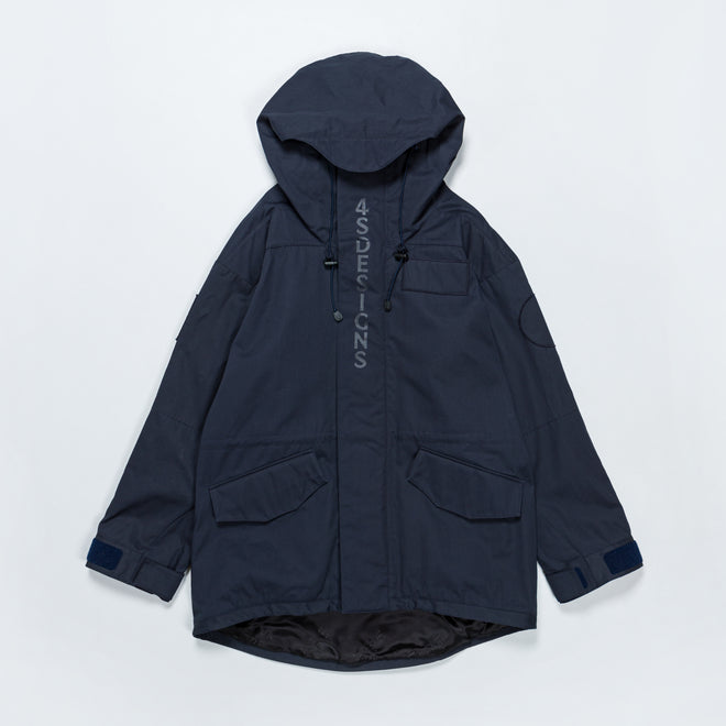 4SDesigns - NF Coat - Navy - Up There
