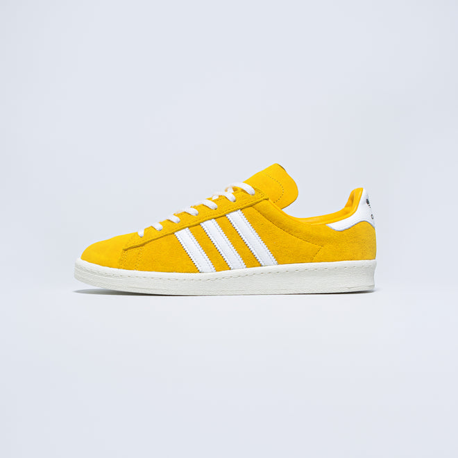 adidas - Campus 80's - Bold Gold/Footwear White - Up There
