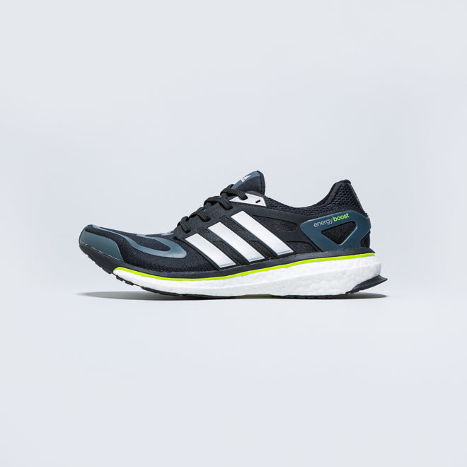 adidas - Energy Boost M - Core Black/Silver Metallic - Up There