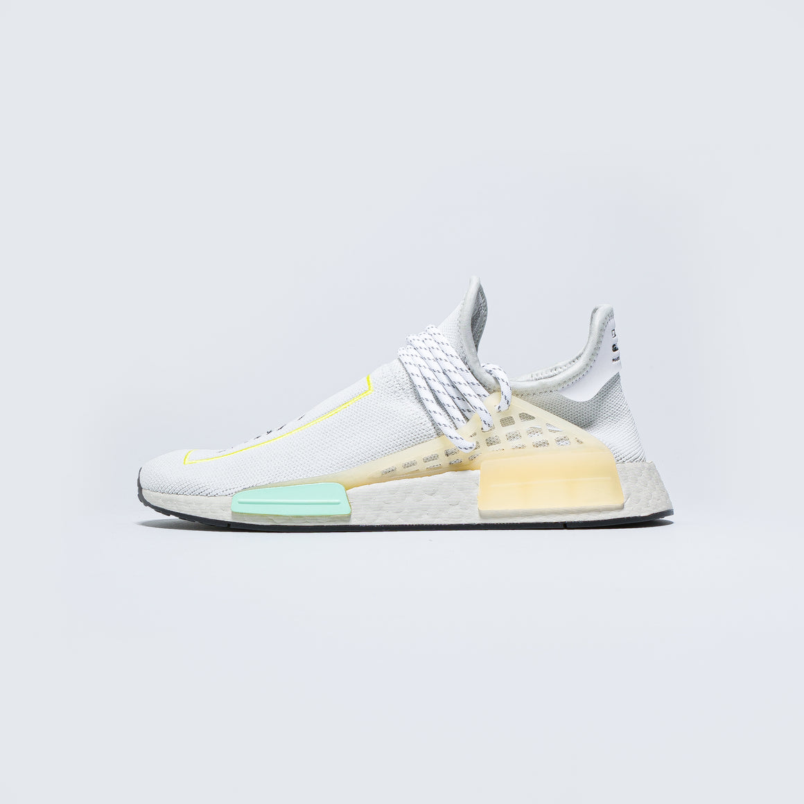 adidas - HU NMD - Crystal White/Clear Mint - Up There