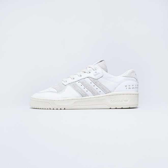 adidas - Rivalry Low - Footwear White/Crystal White - Up There