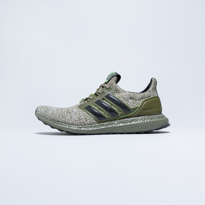 adidas - UltraBOOST DNA x Star Wars 'Yoda' - Trace Cargo/Core Black - Up There