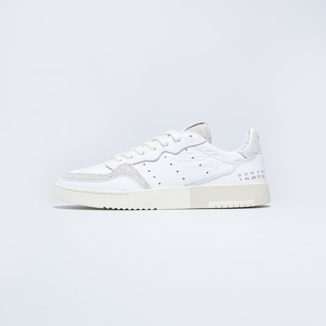 adidas - Supercourt - Footwear White/Crystal White - Up There