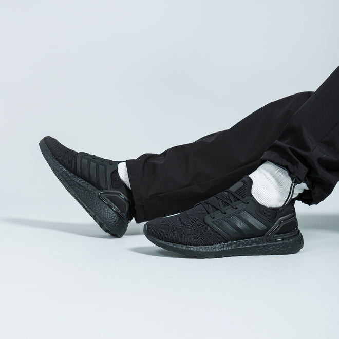 adidas - Ultraboost 20 - Core Black/Core Black - Up There