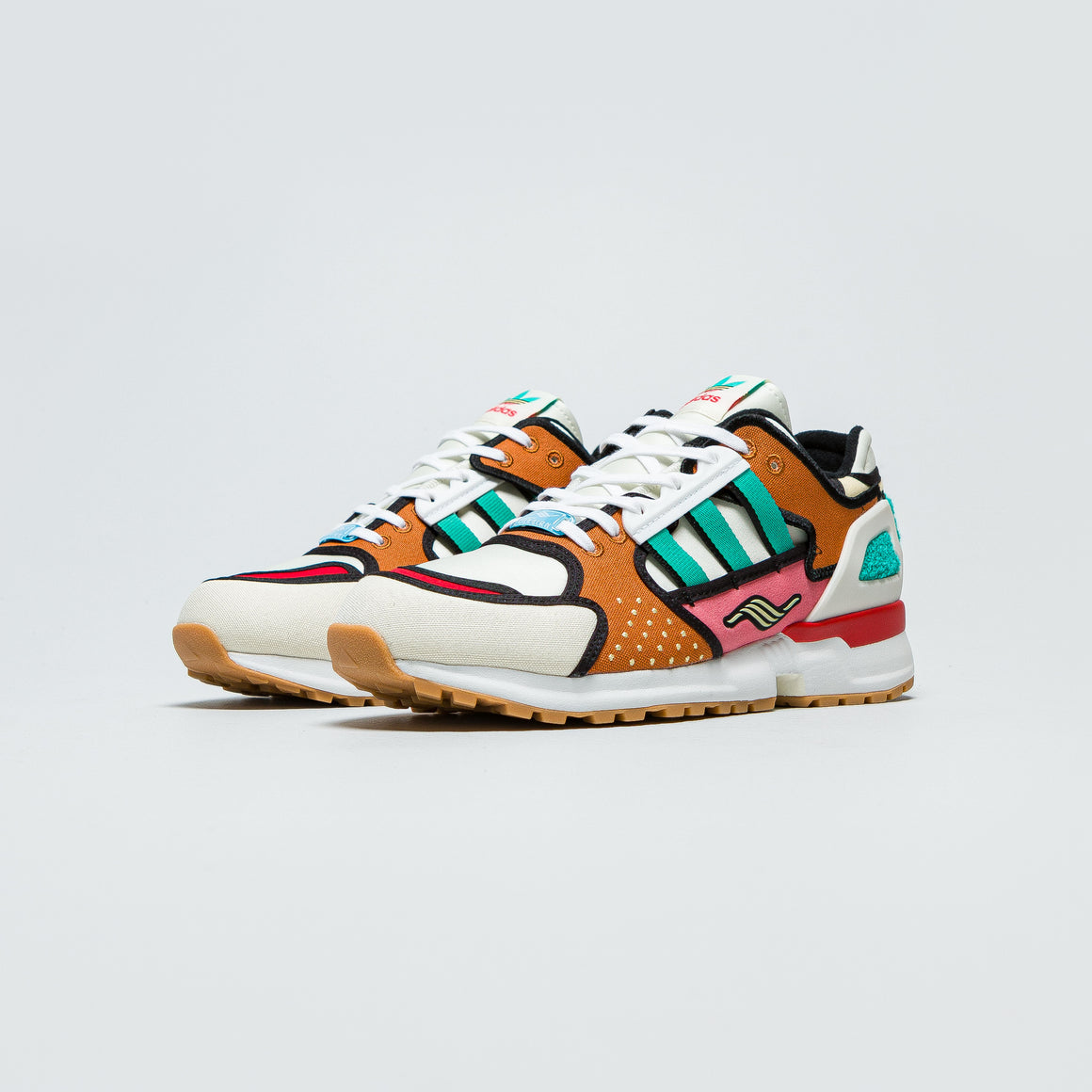 adidas - ZX 10,000 x Krusty Burger - Cream White/Supplier Colour - Up There