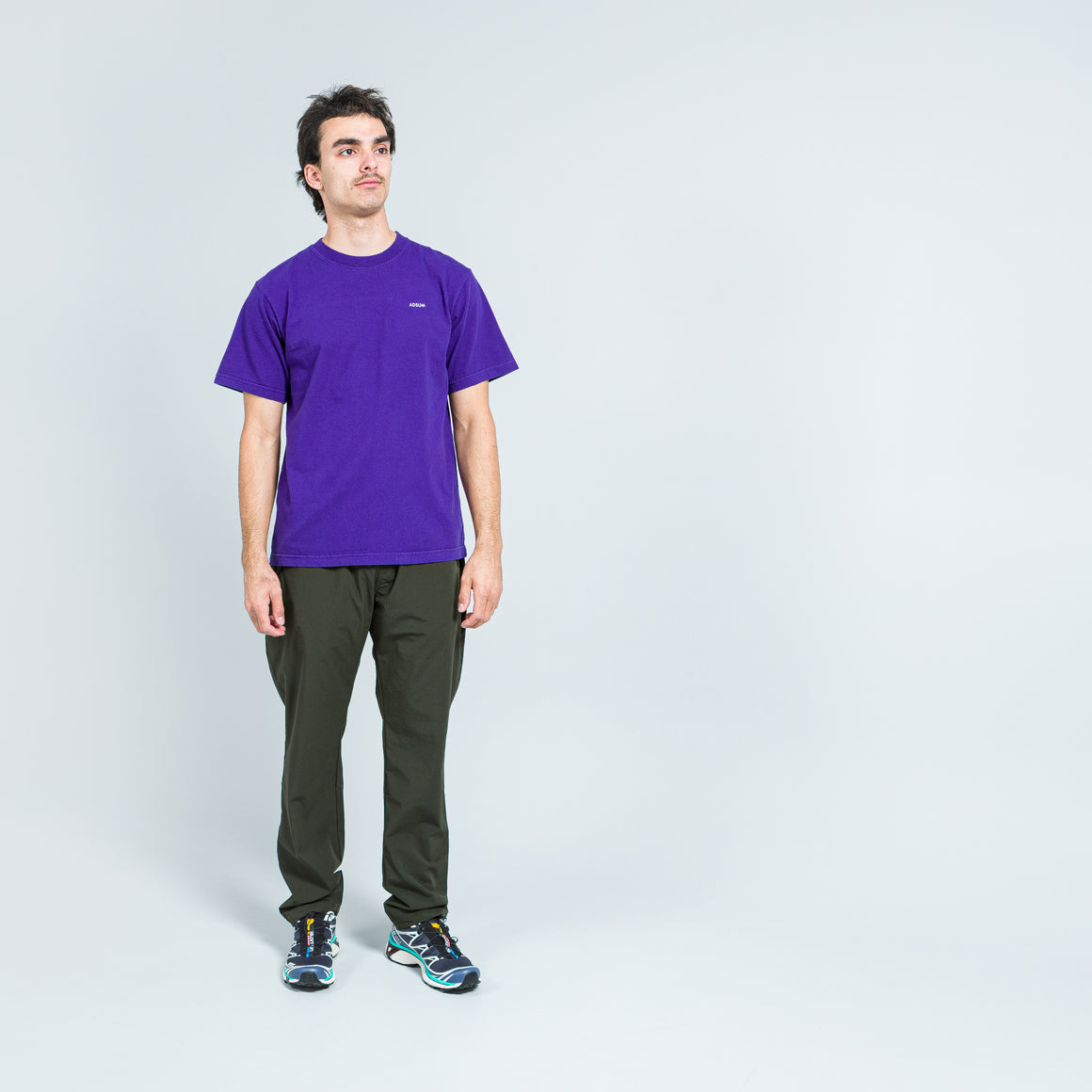 Adsum - New Poetry Tee - Purple - Up There