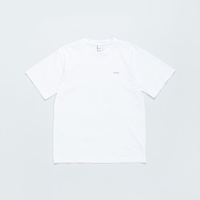 Adsum - New Poetry Tee - White - Up There