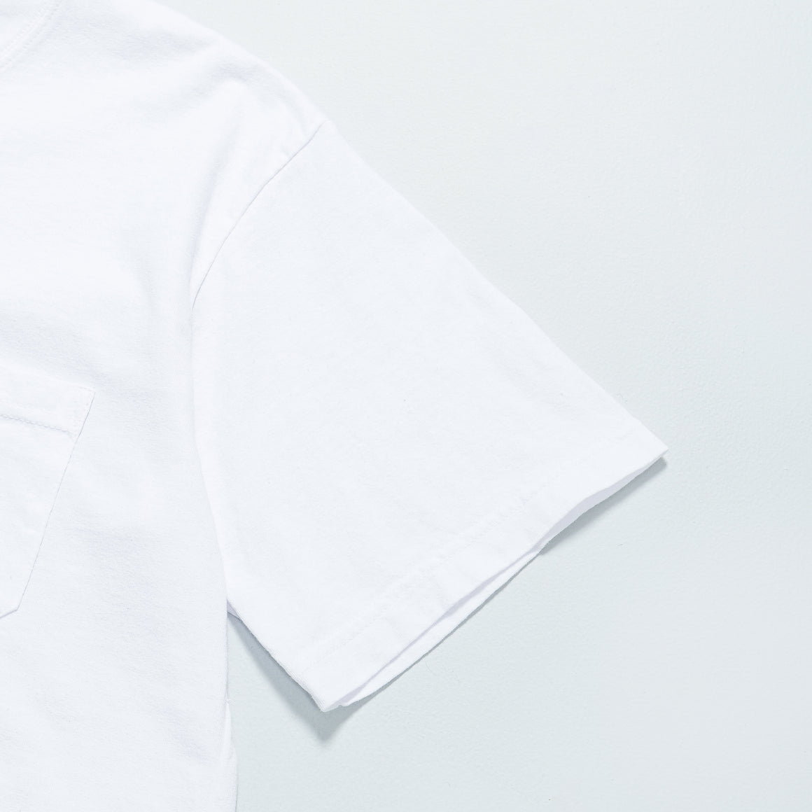 Adsum - SS Pocket Tee - White - Up There