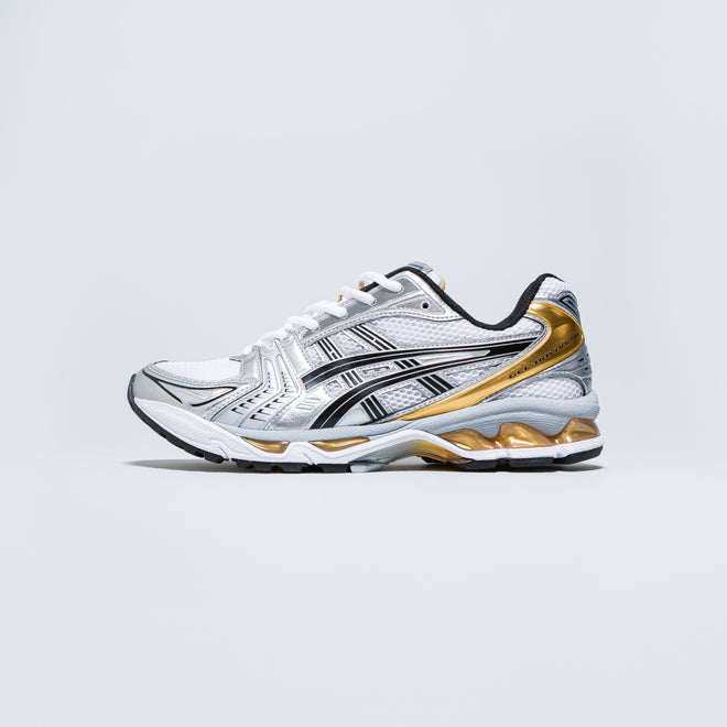 Asics - Gel-Kayano 14 - White/Pure Gold - Up There